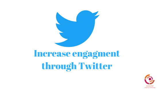 A few ways to increase the engagement at our very own TWITTERATTIS