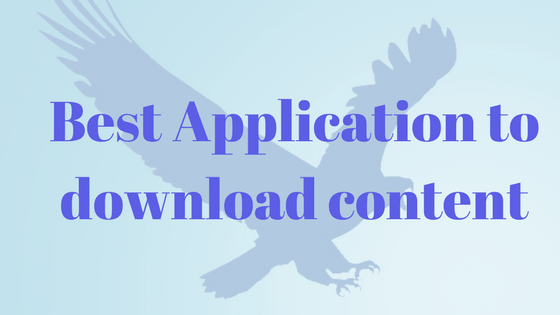 Best Eagleget application for downloading content from internet