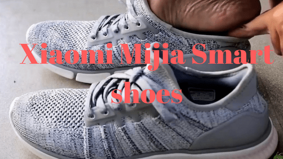 Calculate burned calories with Xiaomi Mijia smart shoes
