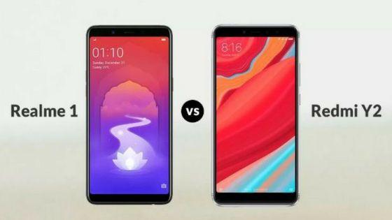 Realme1 vs Redme Y2