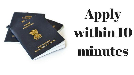 passport seva application