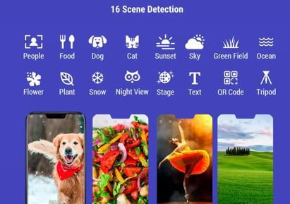 Asus Zenfone 5z scene detection