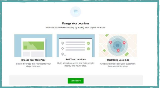 facebook location pages