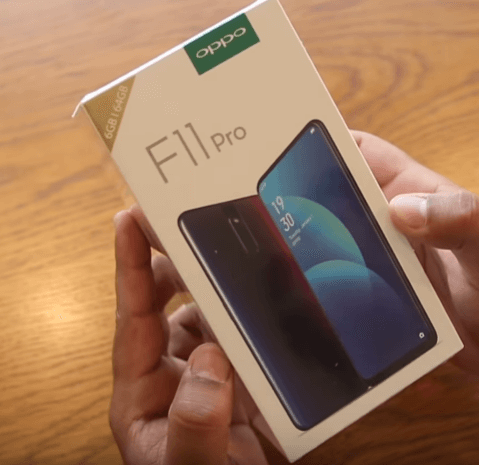 Oppo F11 Pro unboxing